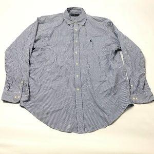 Ralph Lauren Men's Dress Shirt Cotton Classic Fit